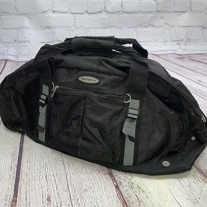 Samsonite duffle bag with straps for backpack